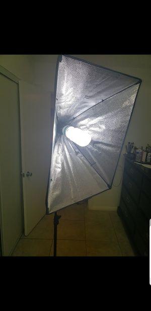Softbox lighting kit for Sale in Riverside, CA