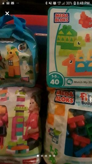 Mega Bloks Bundle for Sale in Clinton Township, MI