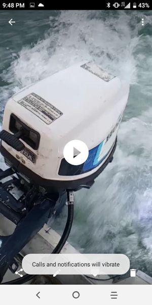 83' Honda 4 Stroke 7.5hp Outboard BF75 for Sale in San Diego, CA