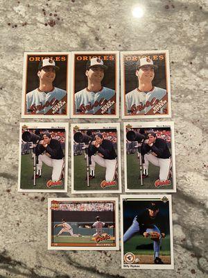 Billy Ripken Orioles Baseball Card Lot for Sale in Vienna, VA
