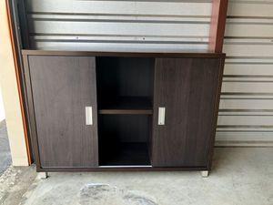 Black Sideboard Buffet With Sliding Doors for Sale in Brandon, FL