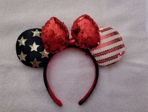 Minnie Mouse ears American flag for Sale in Miami, FL