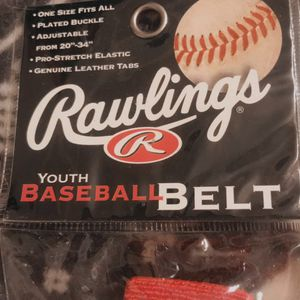 Rawlings Youth Baseball Belts for Sale in Brooklyn, NY