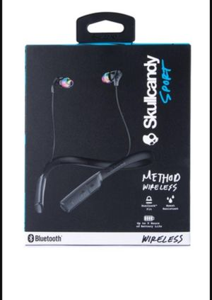 Skullcandy Method Bluetooth Headset for Sale in Fremont, CA