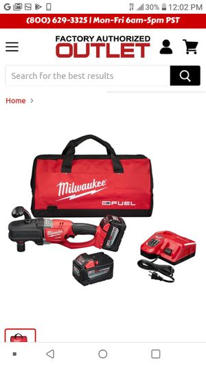 Milwaukee M18 3/8 cordless right angle drill set for Sale in Benicia, CA