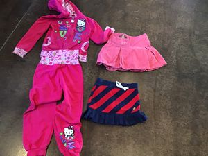 Hello kitty outfit plus Ralph Lauren girl clothes for Sale in Buckeye, AZ