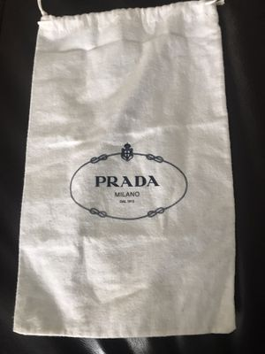 Prada dust flannel bag for Sale in Delray Beach, FL