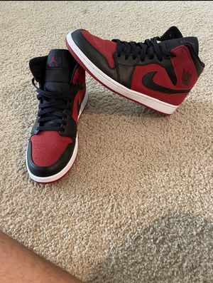 "Jordan 1 Mid ""Banned"" for Sale in Chula Vista, CA"