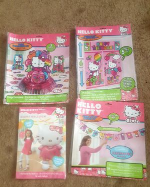 Hello kitty party decorations! for Sale in Glenarden, MD