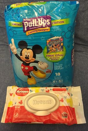 Huggies Pull Ups Boys / Girls Lot#87 for Sale in Madison Heights, MI