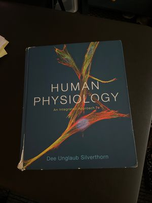 Human Physiology Book for Sale in Fremont, CA