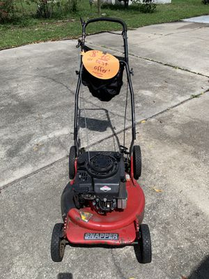 Snapper Push Lawn Mower Briggs & Stratton Series for Sale in Deltona, FL