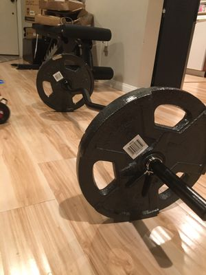Brand new!!! 60 lb weight set!!! for Sale in San Diego, CA