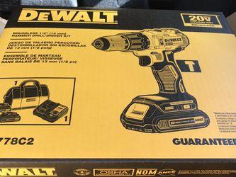 DeWalt Brushless Hammer Drill for Sale in Kansas City,  KS