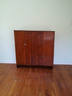 Wood Cabinet for Sale in Houston, TX