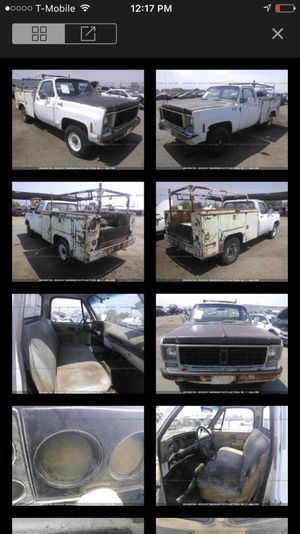 1978 GMC 1500 parting out!!! Parts only!! for Sale in Phoenix, AZ