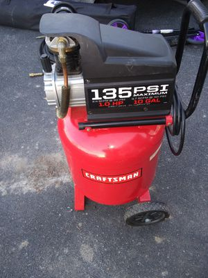 10 gallon air compressor for Sale in North Tonawanda, NY