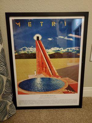 Metric Poster Art, Framed for Sale in Laguna Beach, CA