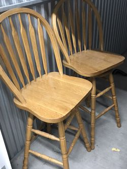 2 Spinning Bar Stools for Sale in Tacoma,  WA