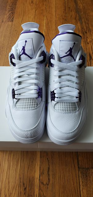 Jordan Retro 4 Metallic Purple for Sale in Cleveland, OH