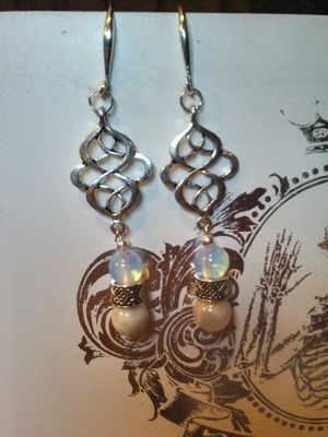 Sun Stone and Moonstone Earrings for Sale in Phoenix, AZ