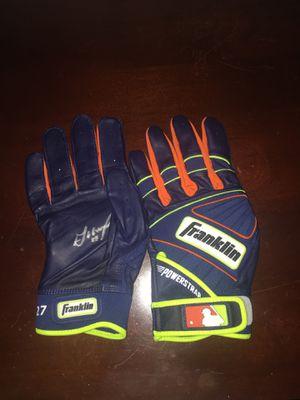 Jose Altuve personally signed batting gloves. for Sale in Pompano Beach, FL