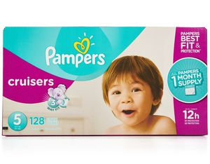 128 Pampers cruisers size 5 for Sale in San Jose, CA