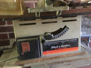 "Black & Decker 8"" Table Saw for Sale in MD, US"