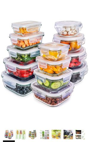 Airtight Glass Storage Containers for Sale in Los Angeles, CA