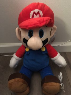 Nintendo Switch Super Mario Pillow Plush 22 Inches for Sale in Placentia, CA