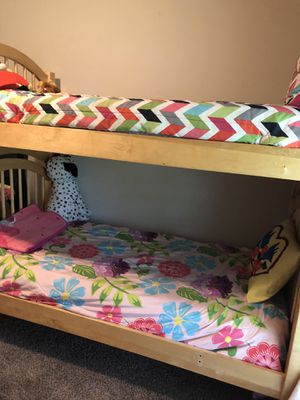 Bunk beds $110 in good conditions for Sale in Tulsa, OK