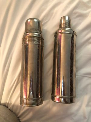 Vintage Stainless steel thermoses for Sale in Santa Clara, CA