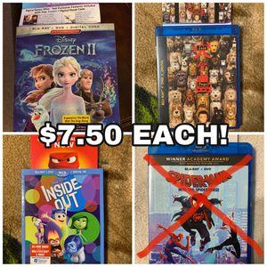 Frozen, Inside, Isle movie digital codes for Sale in Henderson, NV
