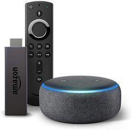 Amazon fire TV stick bundle with echo dot for Sale in Boynton Beach, FL