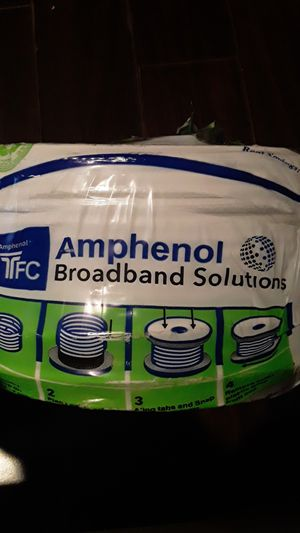 Amphenol broadband solutions (roll of broadband cable) for Sale in San Pedro, CA