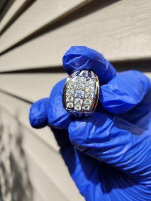 Mens 1 Carat diamond ring for Sale in Livonia, MI