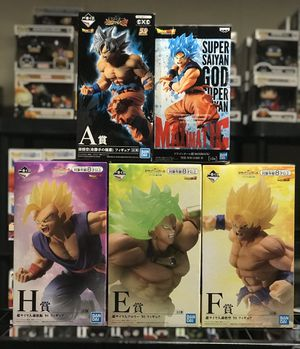 Dragonball Z and My Hero Statue Figures for Sale in Florissant, MO