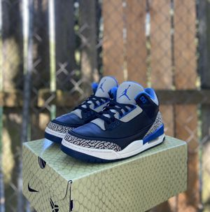 Jordan 3 Sport Blue for Sale in Seattle, WA