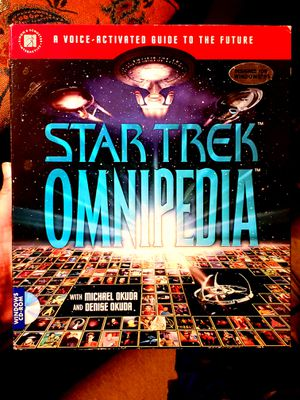 Star Trek Omnipedia: An Interactive Encyclopedia/Cd-Rom Windows Version for Sale in Fairfax, VA