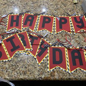 Happy Birthday Banner for Sale in Menifee, CA