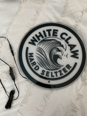 White Claw LED sign for Sale in San Dimas, CA