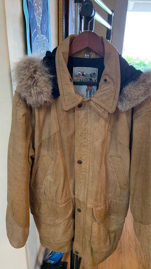 Snow Jacket Men with Fur Hoodie for Sale in San Diego, CA