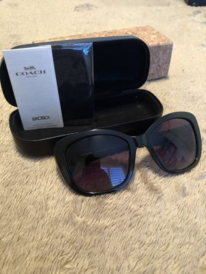 Brand new Women's black Coach sunglasses for Sale in Chandler, AZ