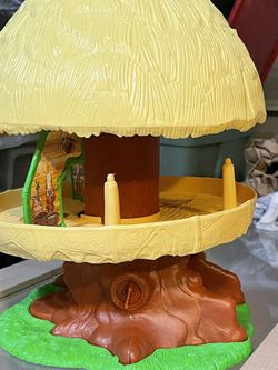 Star Wars Return Of The Jedi Ewok Family Hut Tree House PlaySet Kenner Toy 1984 for Sale in Waco,  TX