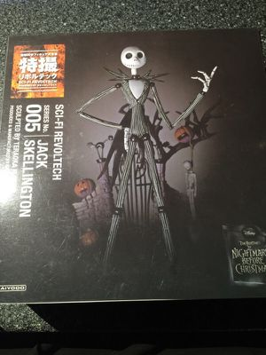 Jack Skellington Revoltech, Nightmare Before Christmas Super Poseable Action Figure #005 for Sale in Queens, NY
