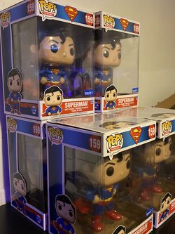 Funko Pop! Superman #159 Chase & Regular 10in Walmart Exclusive! for Sale in Silver Spring,  MD
