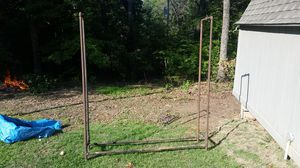 Black Pipe firewood rack for Sale in Gilbertsville, KY