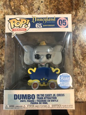 Funko POP! Dumbo on the Casey jr. circus train attraction for Sale in Berkeley Township, NJ