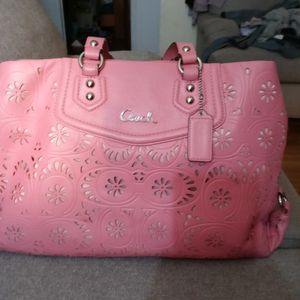 Pink Coach Purse for Sale in Bremerton, WA