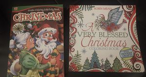 Christmas coloring books for Sale in Scottsbluff, NE